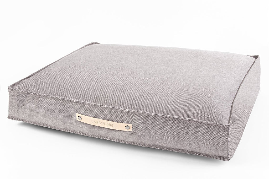 Labbvenn TOVE Cushion Dog Bed in Walnut - PurrfectlyYappy