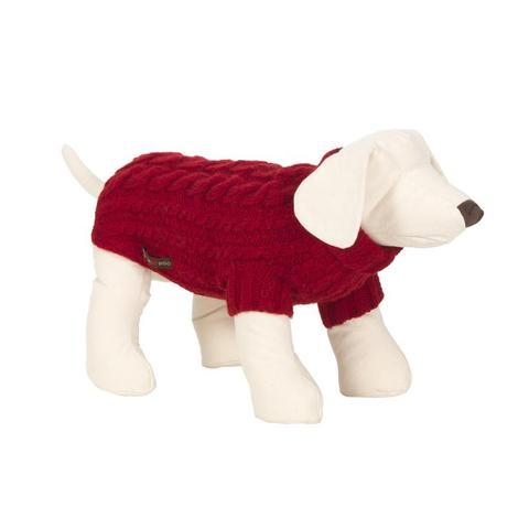 Lish London Wilmot Red Dog Jumper