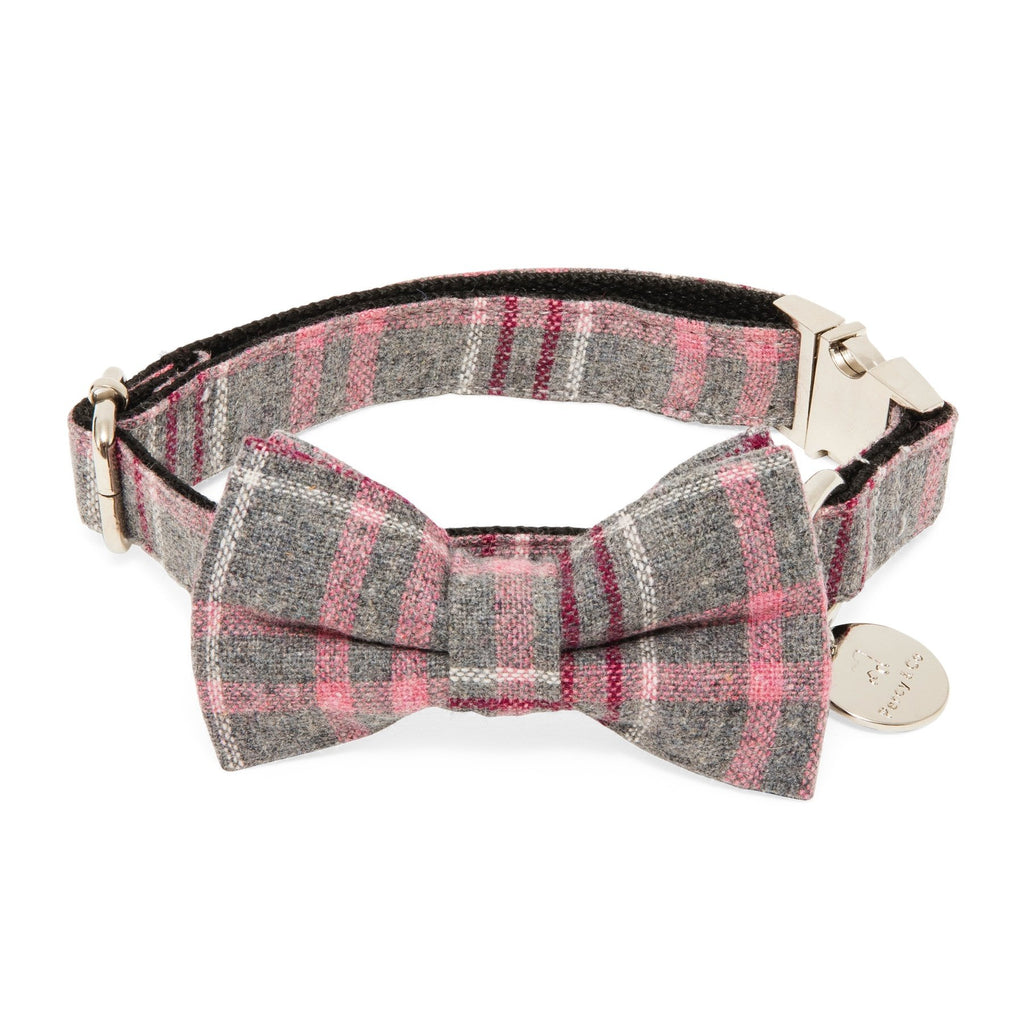 Percy & Co. Dog Collar Bow Tie in The Winchester - PurrfectlyYappy