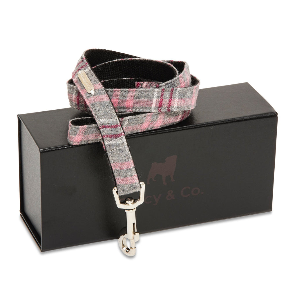 Percy & Co. Dog Collar & Lead Set in The Winchester - PurrfectlyYappy