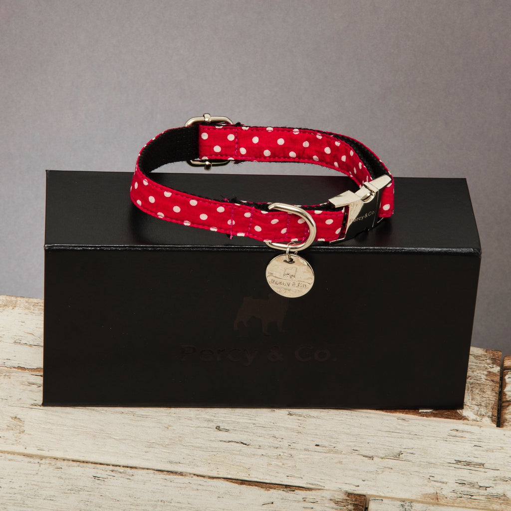 Percy & Co. Dog Collar in The York - PurrfectlyYappy