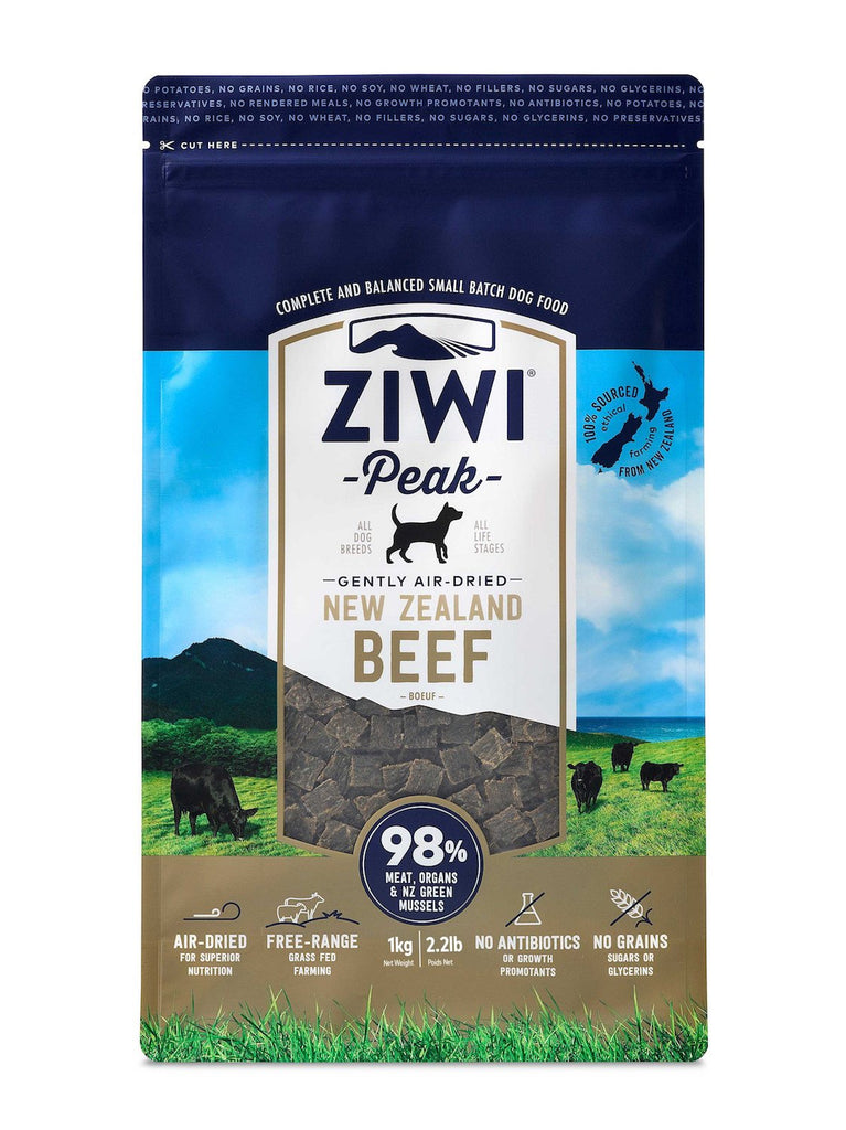 ZiwiPeak Air Dried Cuisine Beef Dog Food - 4kg - PurrfectlyYappy
