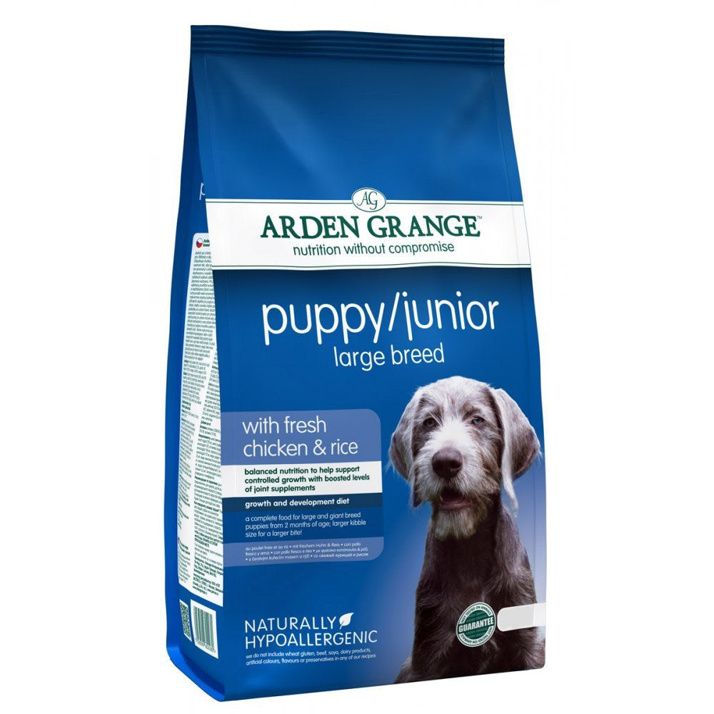 Arden Grange Puppy/Junior Large Breed - PurrfectlyYappy