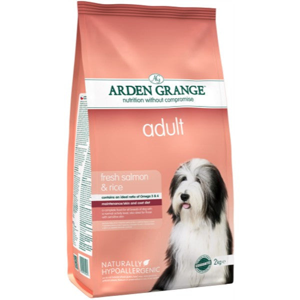 Arden Grange Adult Salmon & Rice - PurrfectlyYappy