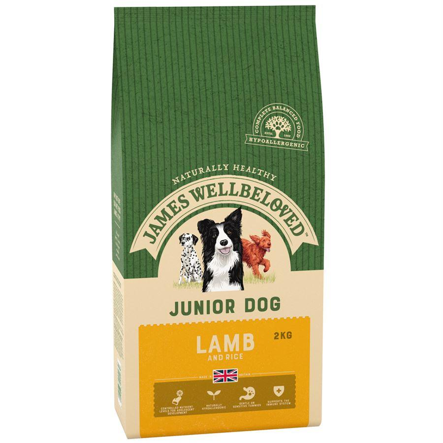 James Wellbeloved Junior Lamb & Rice