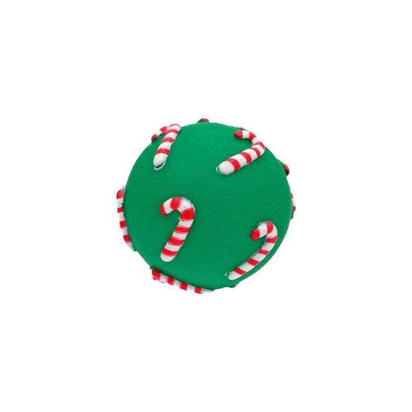 Christmas Ball Squeaky Vinyl Dog Toy - PurrfectlyYappy