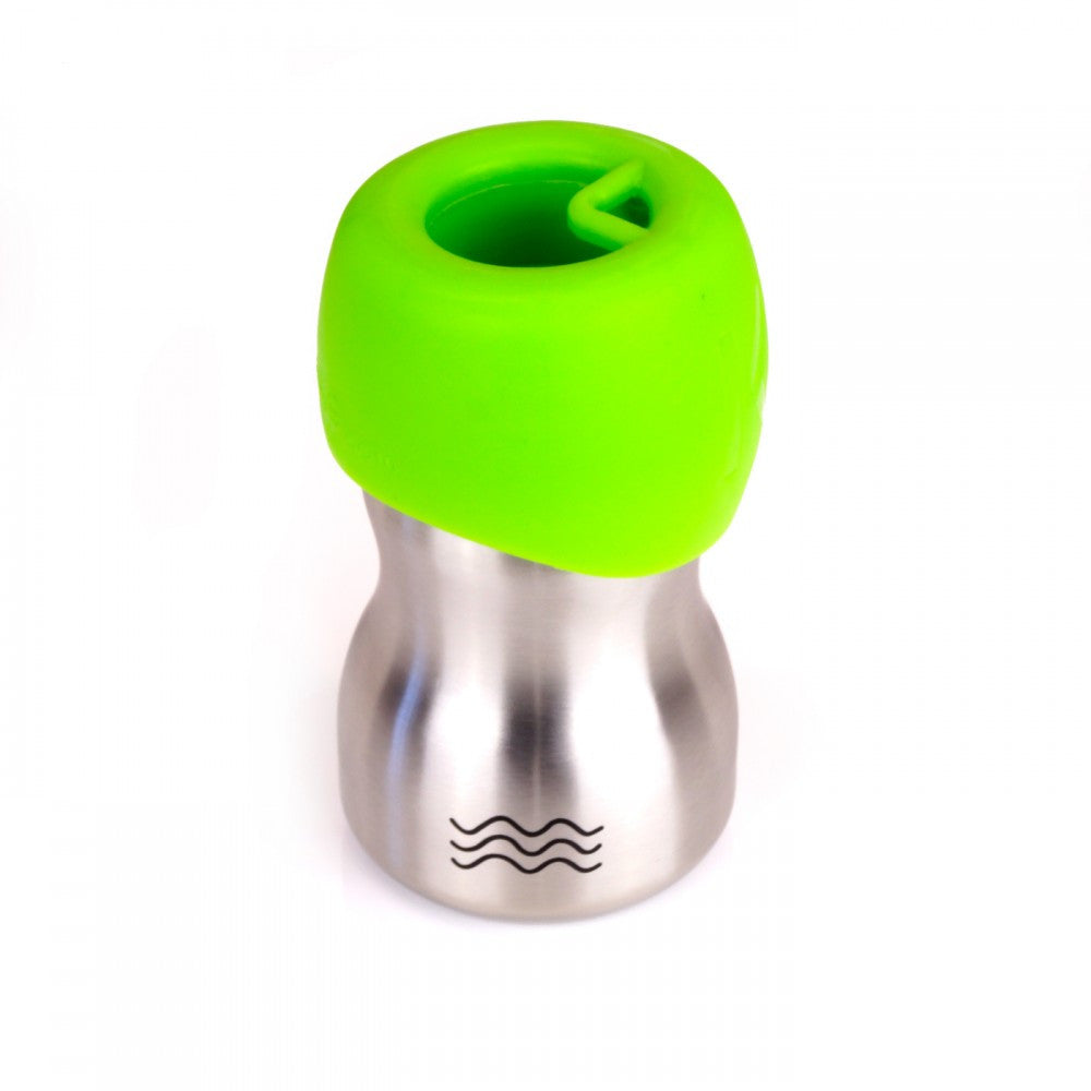 H2O4K9 9.5oz Stainless Steel in Green - PurrfectlyYappy