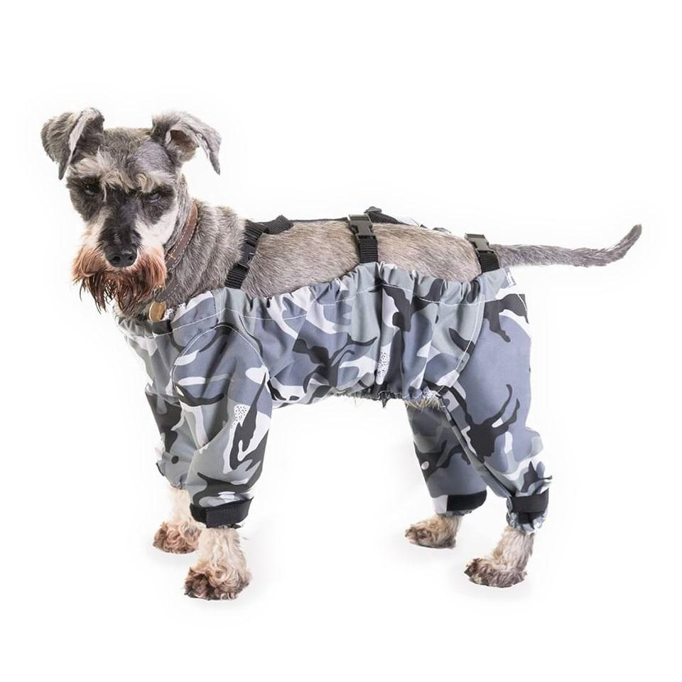 The Dog Trouser Company Waterproof Dog Trousers - Camo Schnauzer