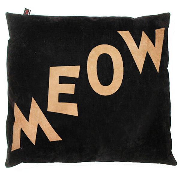 Creature Clothes Cat Nappa Meow Cat Bed in Black - PurrfectlyYappy