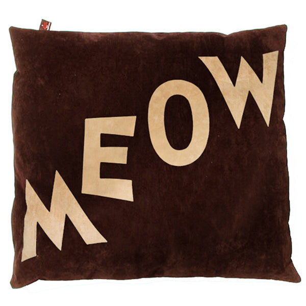 Creature Clothes Cat Nappa Meow Cat Bed in Brown - PurrfectlyYappy