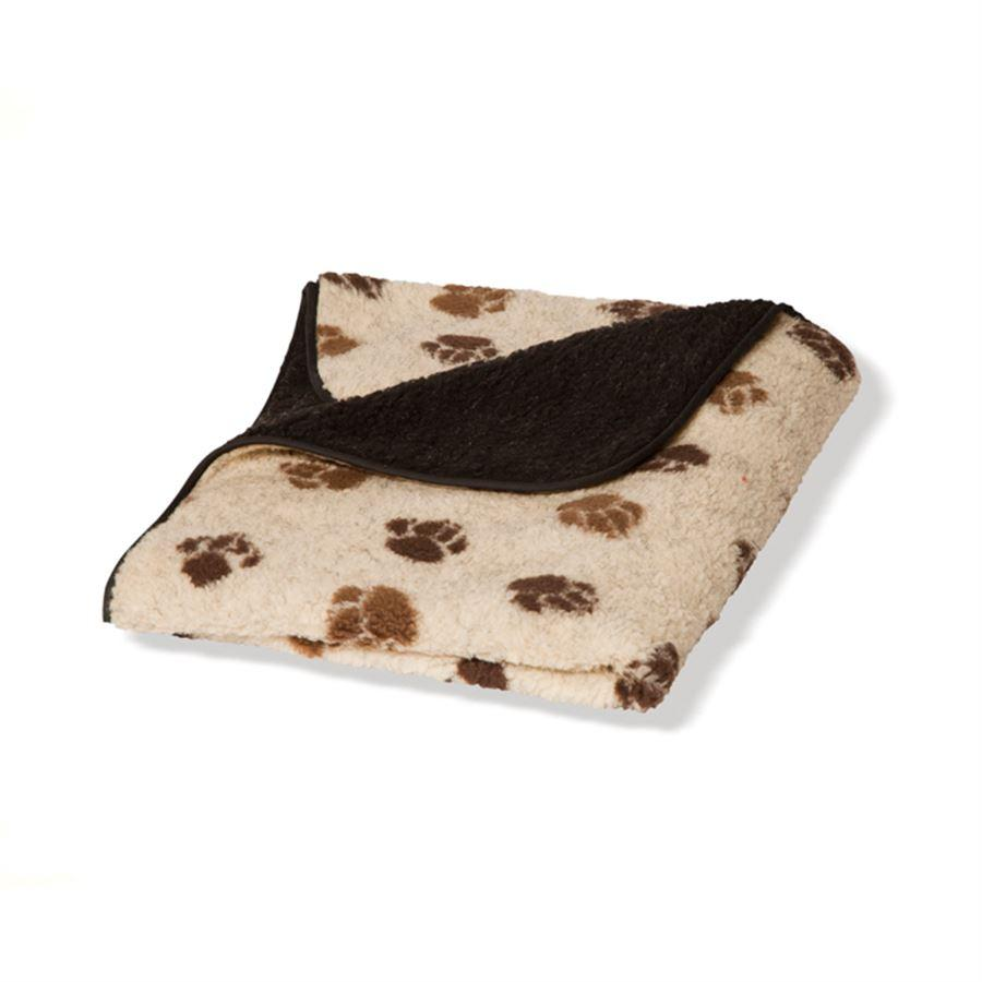 Danish Design Beige Sherpa Fleece Blanket