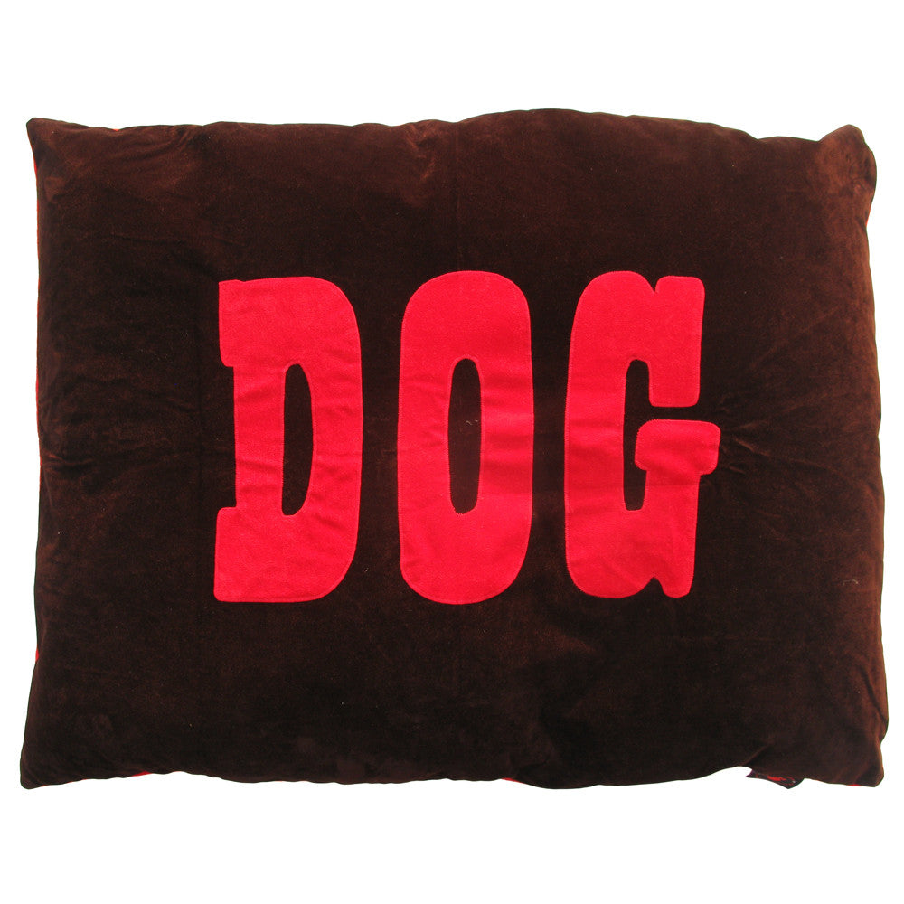 Creature Clothes Brown 'Dog' Doza Dog Bed - PurrfectlyYappy