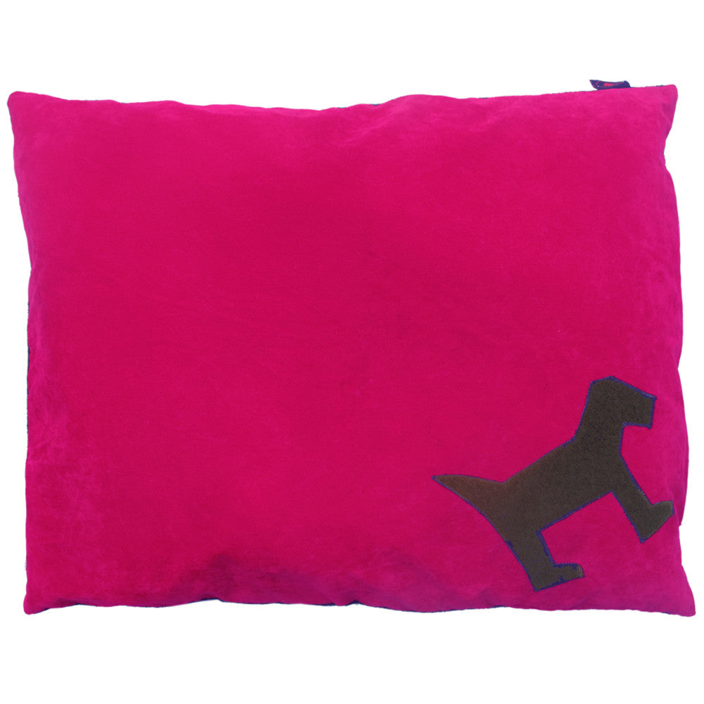 Creature Clothes Pink Odd Dog Doza Dog Bed - PurrfectlyYappy