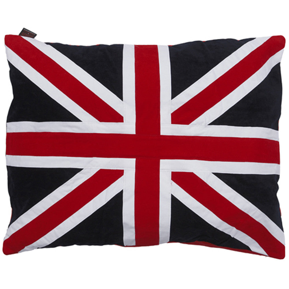 Creature Clothes Union Jack Doza Dog Bed - PurrfectlyYappy