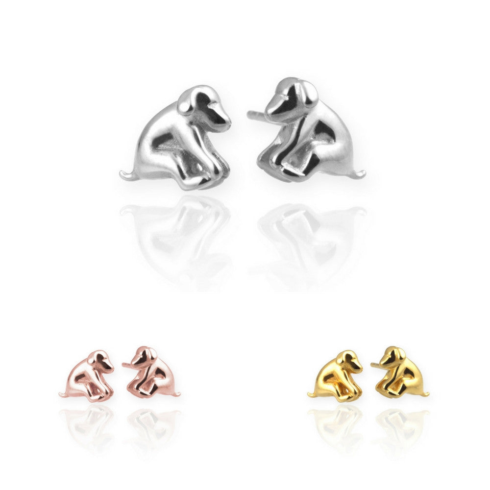 Jana Reinhardt Dog Stud Earrings - PurrfectlyYappy