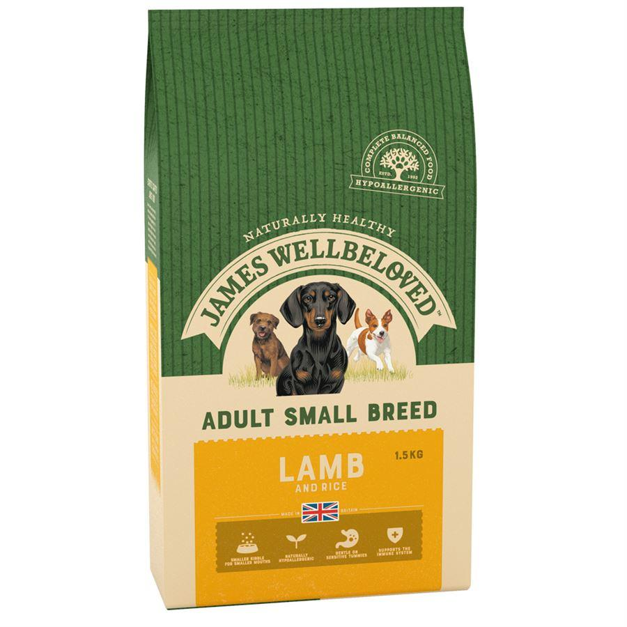 James Wellbeloved Adult Small Breed Lamb