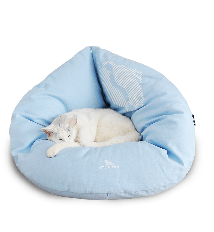 MyKotty Emi Cat Bed In Blue