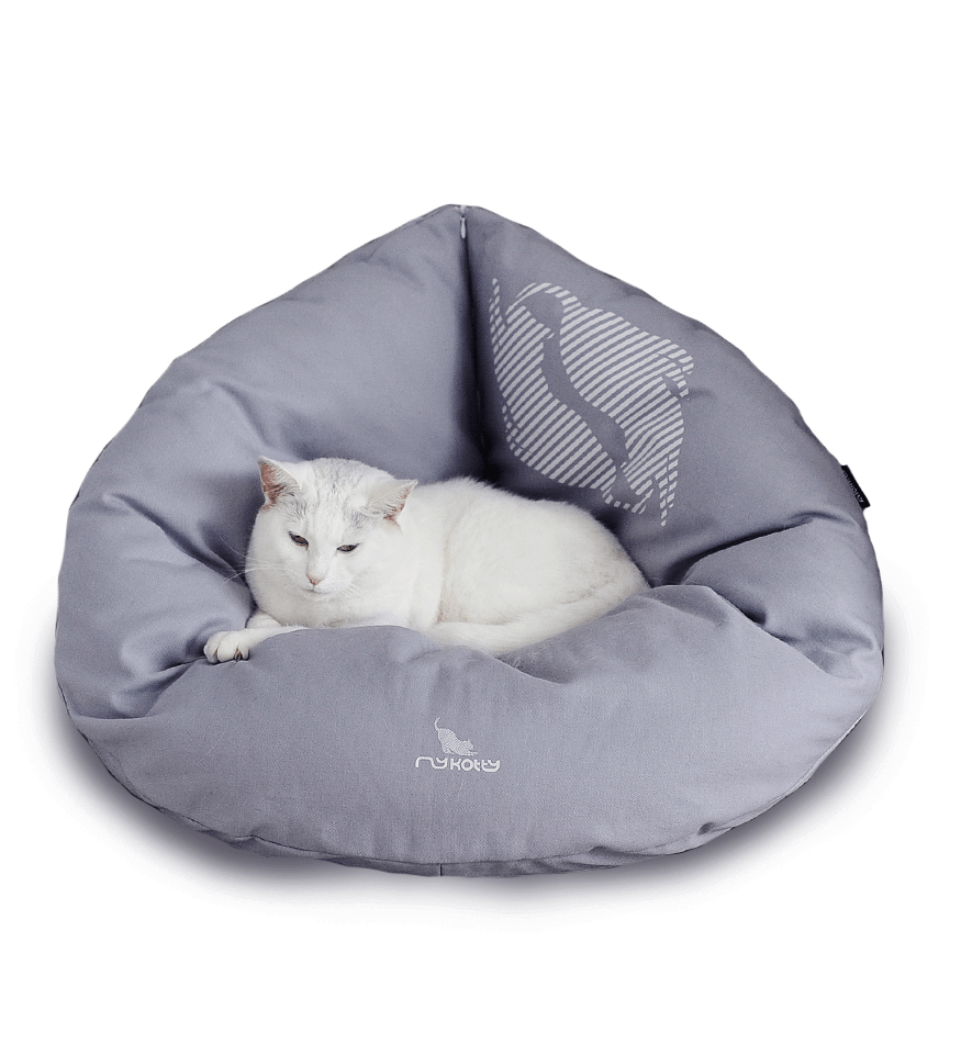 MyKotty Emi Cat Bed In Grey