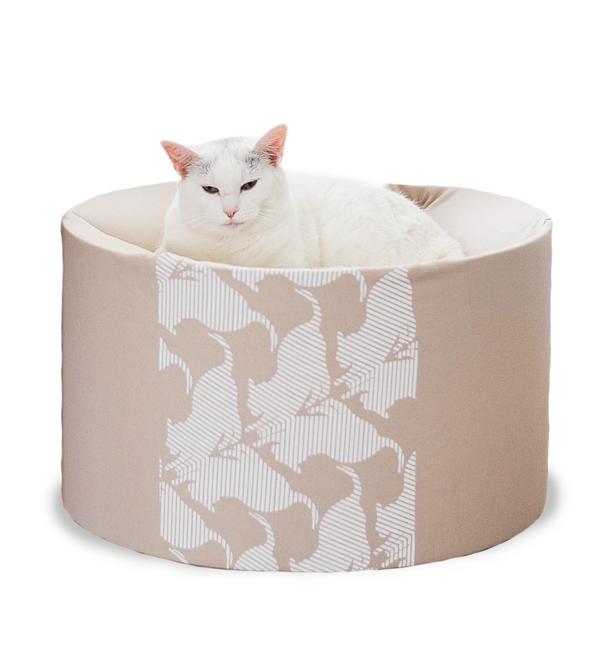 MyKotty Oti Cat Bed In Beige