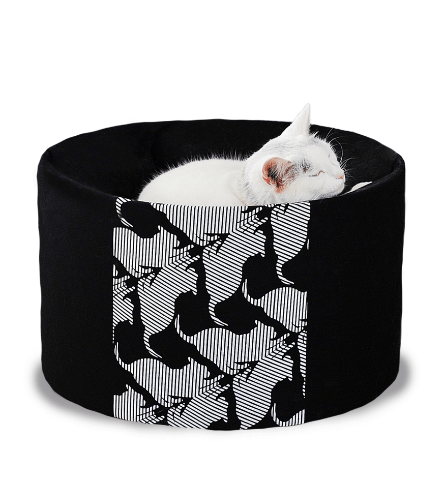 MyKotty Oti Cat Bed In Black