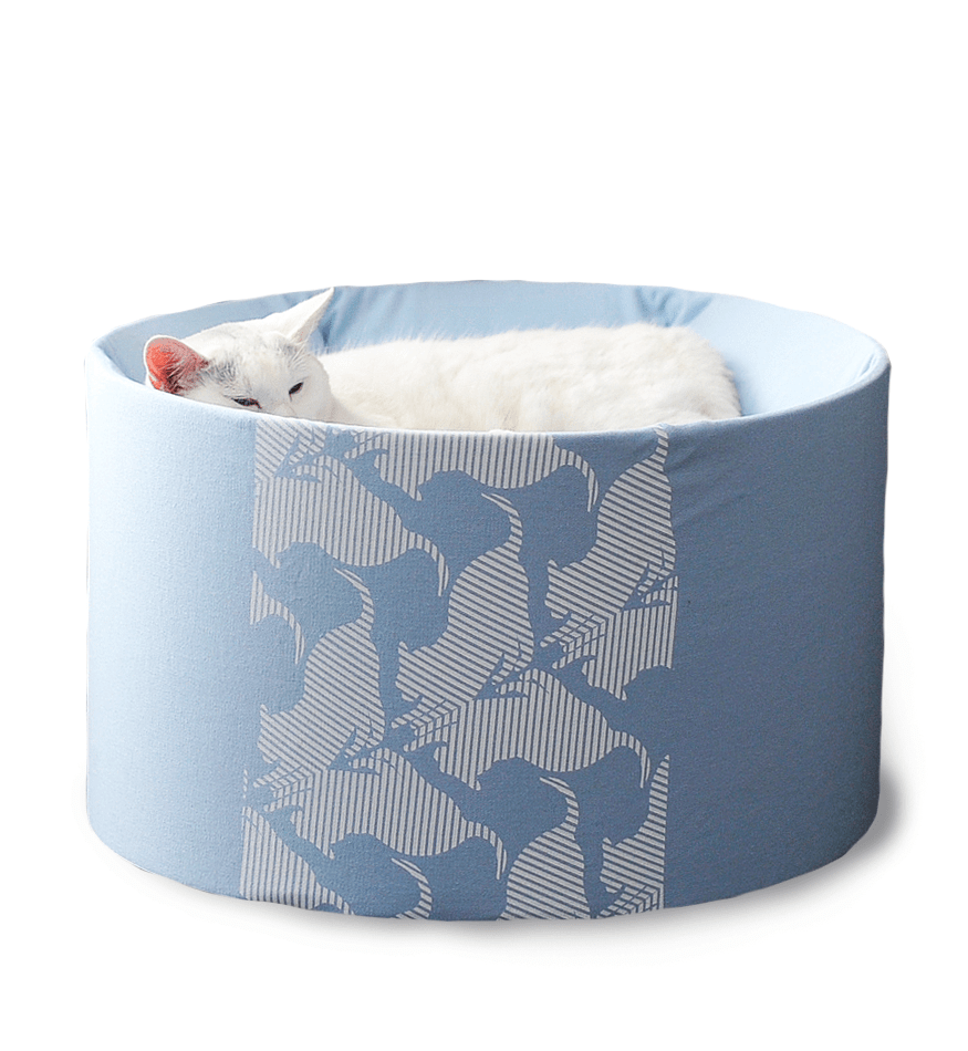 MyKotty Oti Cat Bed In Blue