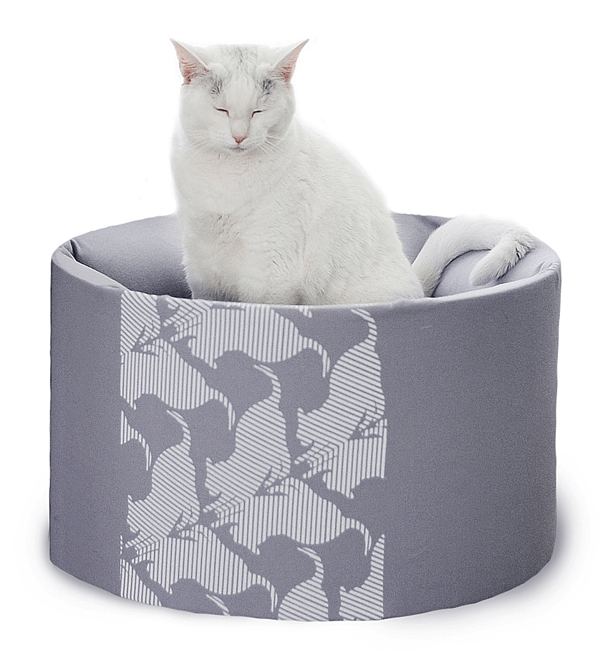 MyKotty Oti Cat Bed In Grey