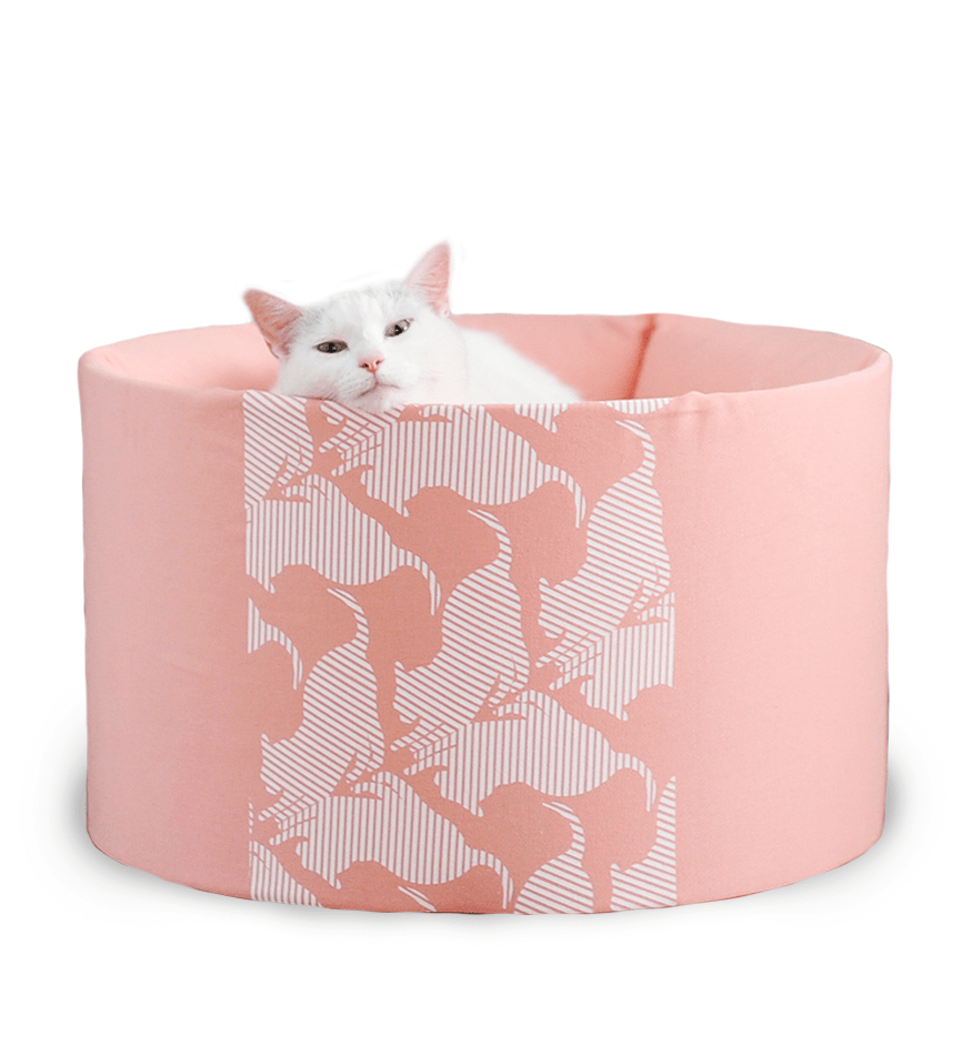 MyKotty Oti Cat Bed In Rose