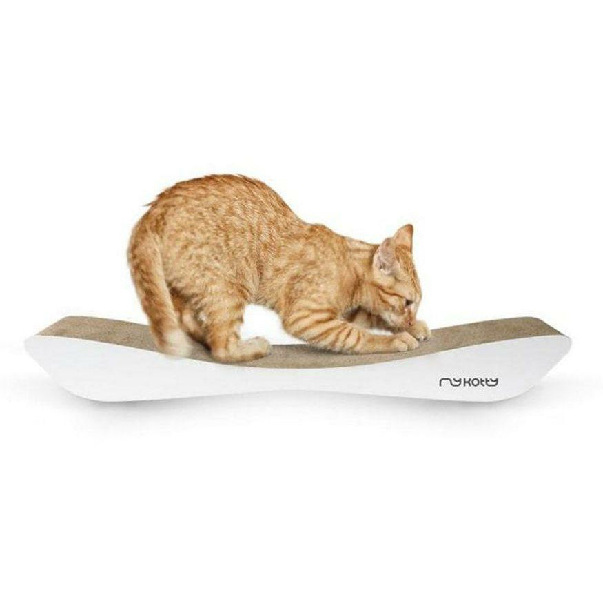 MyKotty Tobi Cat Scratcher In White