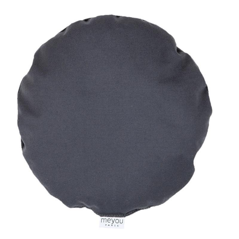 Meyou Round Grey Cushion Bed