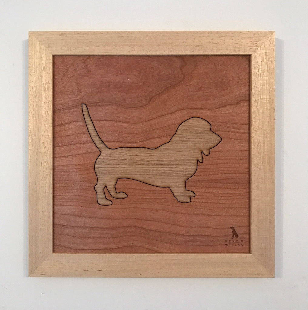 Hunt & Wilson Wooden Dog Art - PurrfectlyYappy