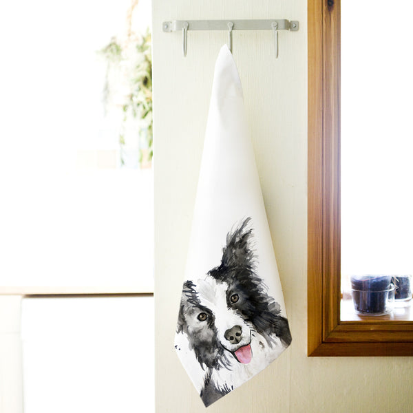 Kate Moby Inky Dog Tea Towel