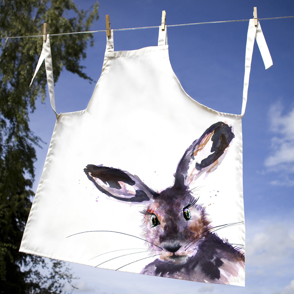 Kate Moby Inky Hare Apron - PurrfectlyYappy