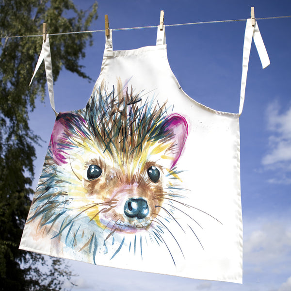 Kate Moby Inky Hedgehog Apron - PurrfectlyYappy