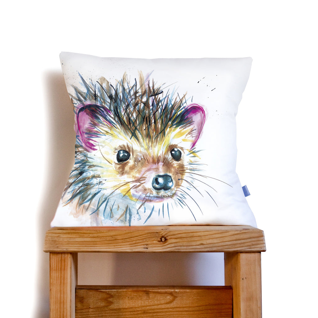Kate Moby Inky Hedgehog Cushion - PurrfectlyYappy