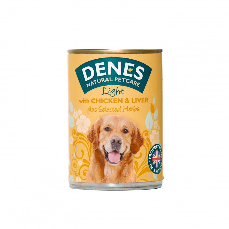Denes Light Chicken & Liver Tins - 12x400g - PurrfectlyYappy