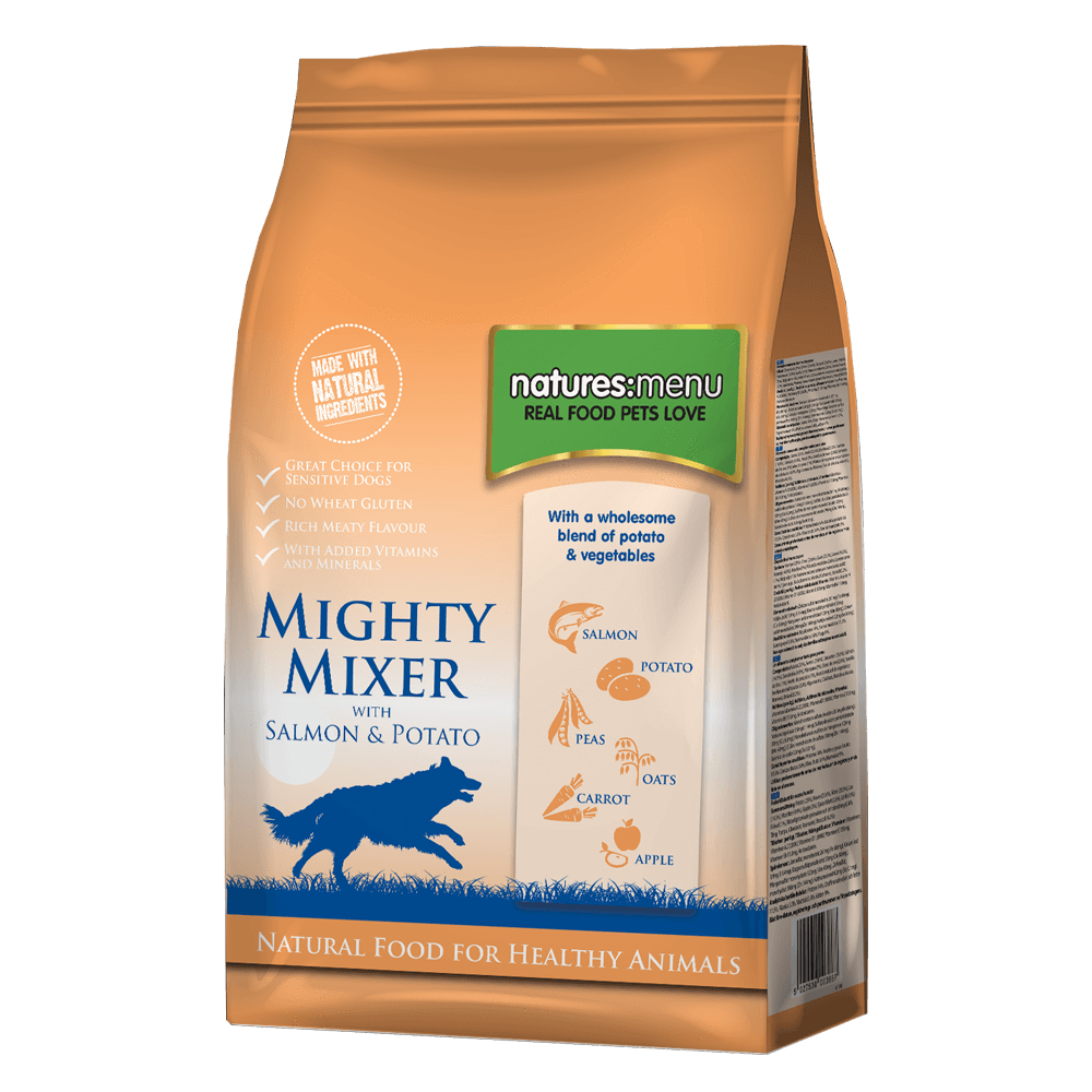 Natures Menu Mighty Mixer with Salmon & Potato