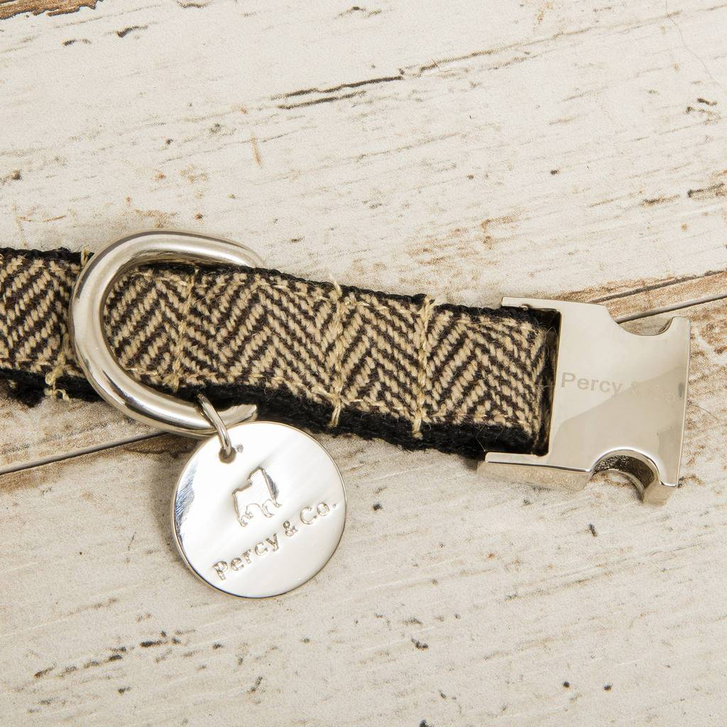 Percy & Co. Dog Bow Tie Collar & Lead Set in Beaufort - PurrfectlyYappy