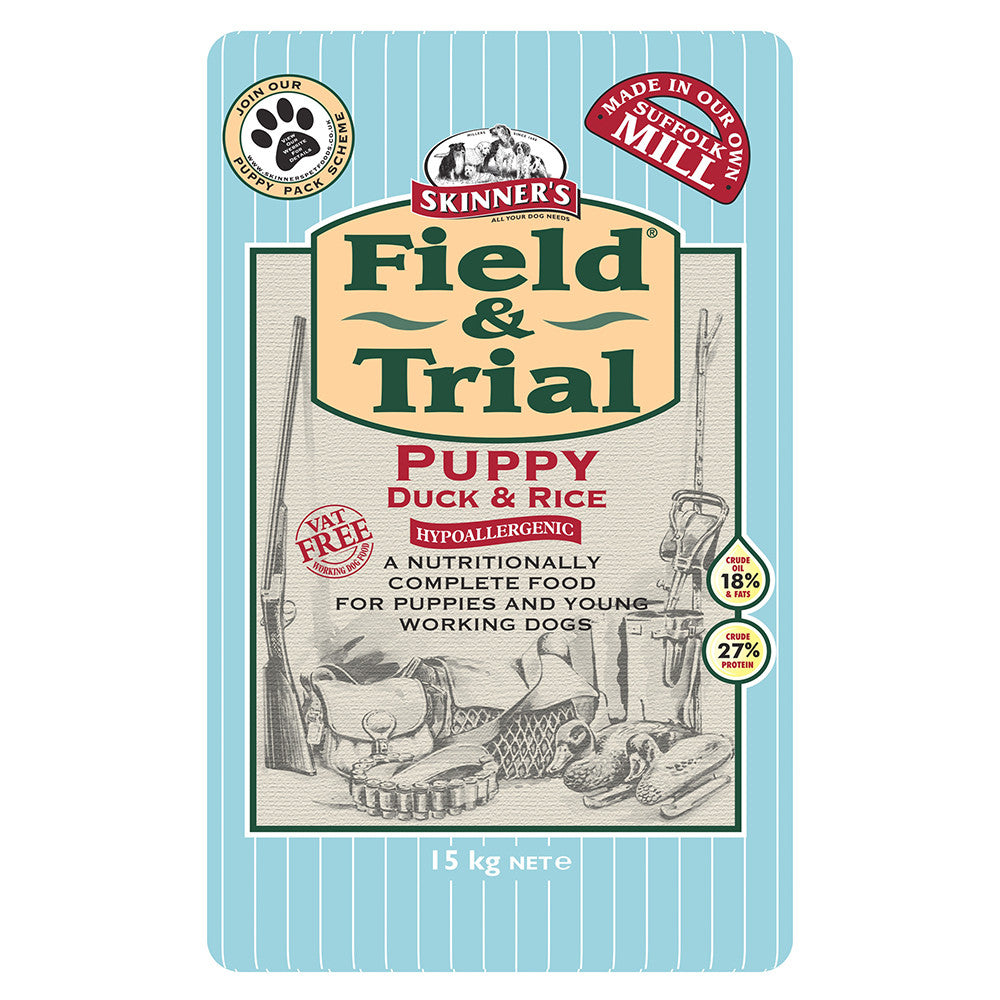 Skinners Field & Trial Duck and Rice Puppy - PurrfectlyYappy