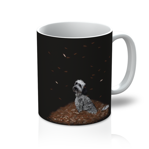 PY Frosty The Pet Star Mug - PurrfectlyYappy