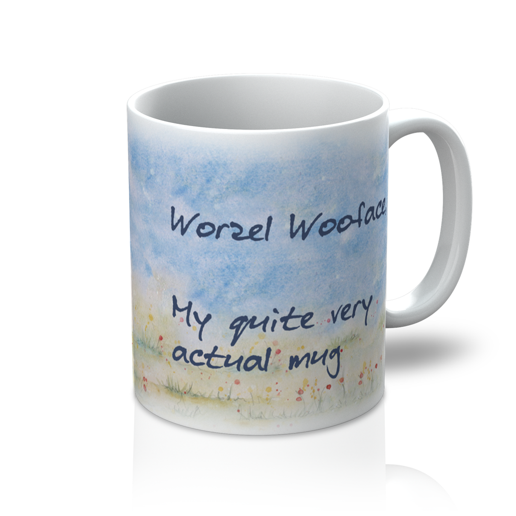Worzel Wooface - My Quite Very Actual Mug - PurrfectlyYappy