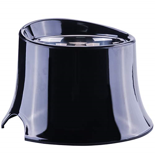 Super Design Raised Tall Bowl Black