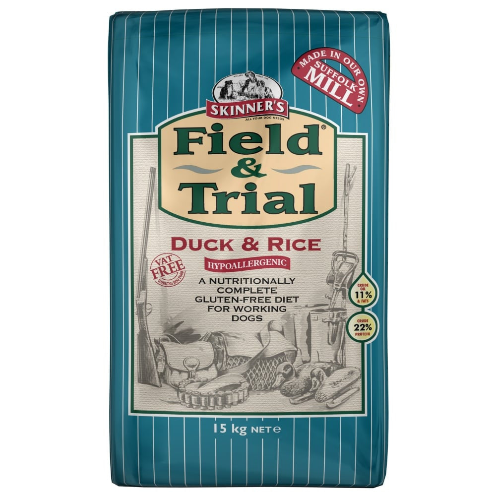 Skinners Field & Trial Duck and Rice - PurrfectlyYappy