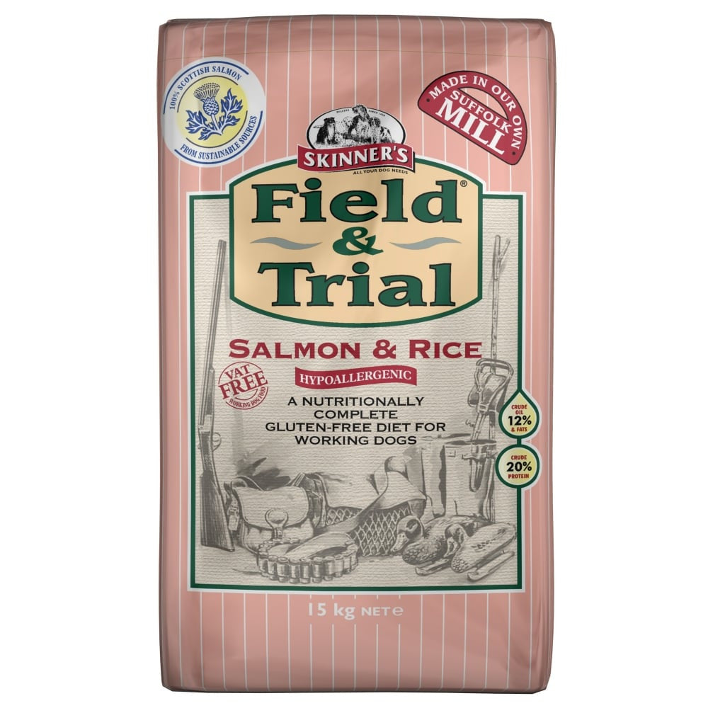 Skinners Field & Trial Salmon and Rice - PurrfectlyYappy