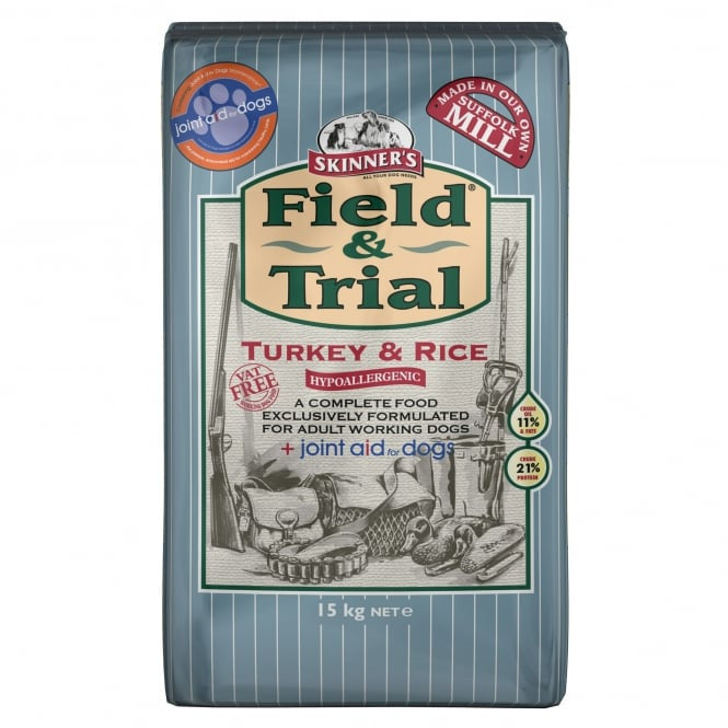 Skinners Field & Trial Turkey & Rice with Joint Aid - PurrfectlyYappy