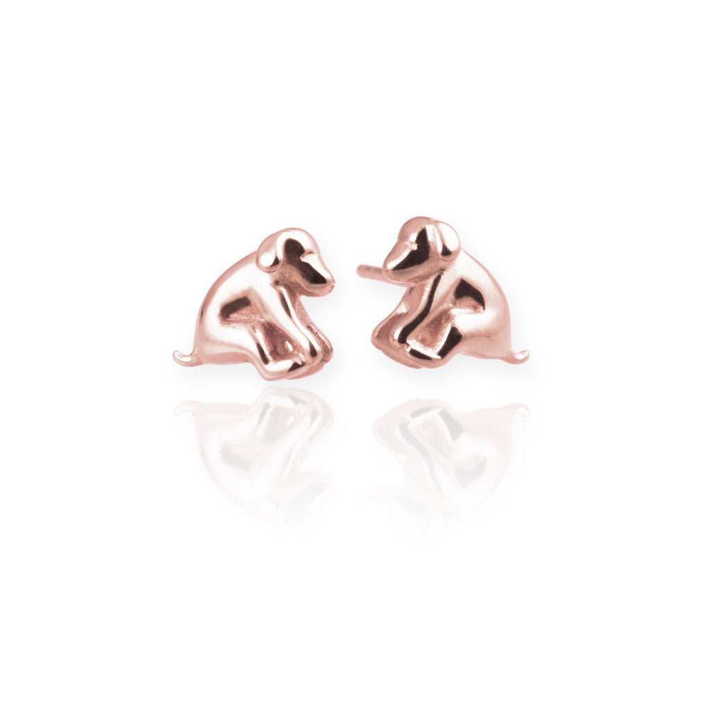 Jana Reinhardt Dog Stud Earrings
