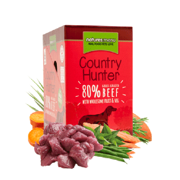 Natures Menu Country Hunter with Beef, Fruit & Veg
