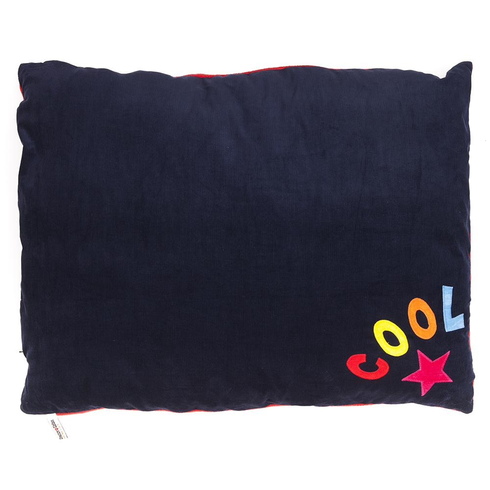 Creature Clothes Black Cool Star Rainbow Doza Dog Bed - PurrfectlyYappy