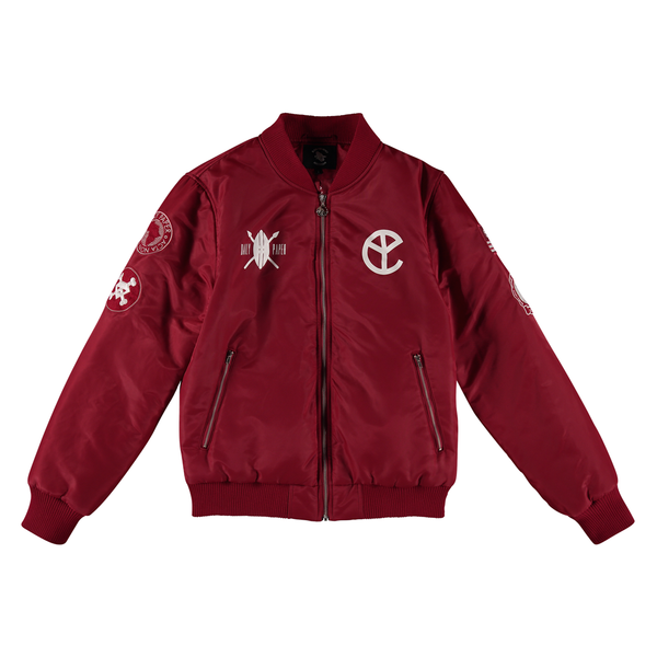 BFM CHERRY BOMBER JACKET