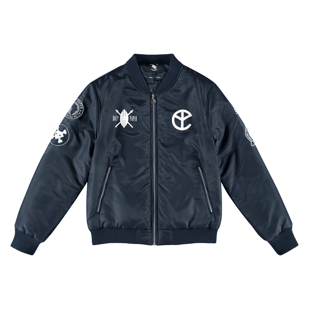 BFM NAVY BOMBER JACKET