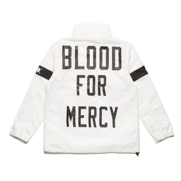 BFM WHITE WINDBREAKER